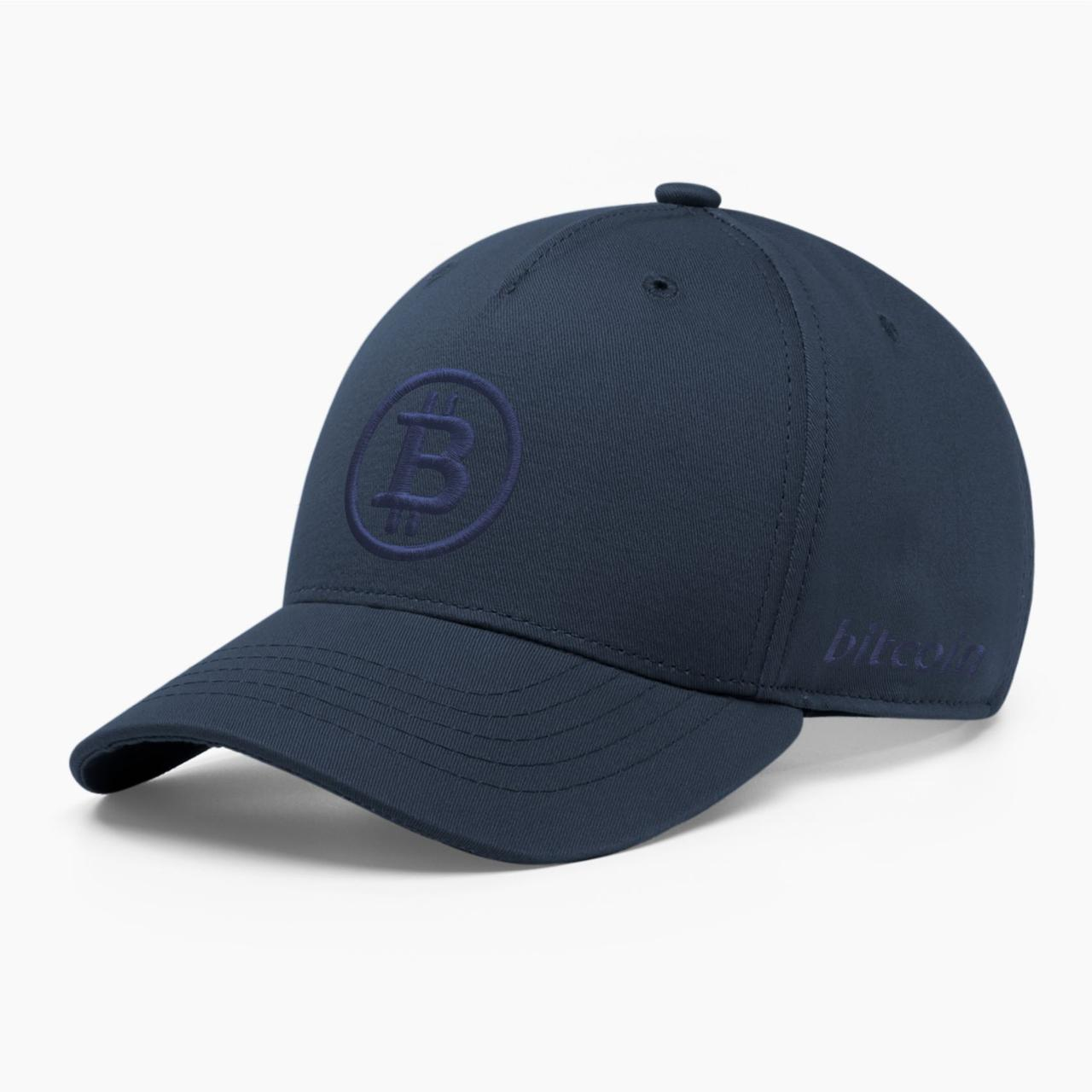 Кепка бейсболка INAL Биткоин Bitcoin BTC S / 53-54 RU Синий 22953