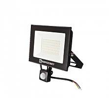 Прожектор светодиодный евросвет 50Вт с датчиком движения EV-50-504D 6400К 4500Лм