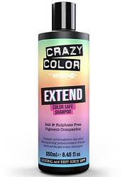 Crazy Color Extend Colour. Безсульфатний шампунь для фарбованого волосся, 250 мл