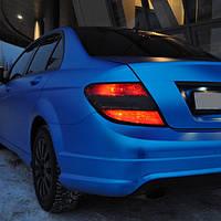 Пленка синий матовый хром Scorpio Premium 1.52 метра ширина рулона