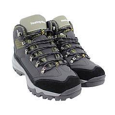 Чоловічі зимові черевики з підігрівом підошви HotShoes 901 40 Black (устілка - 26.5 см) на магнітній зарядці