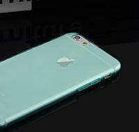 Силиконовый голубой чехол для Iphone 6
