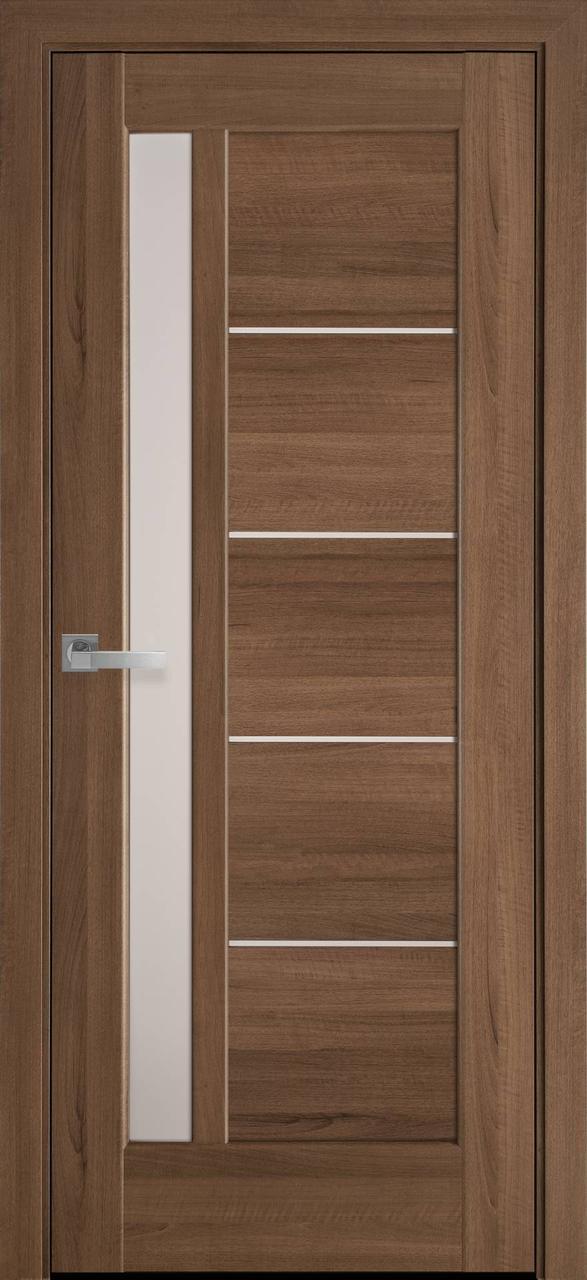 """Дверь межкомнатная """"Новый Стиль"""" модель Грета, золотая ольха (со стеклом)"""