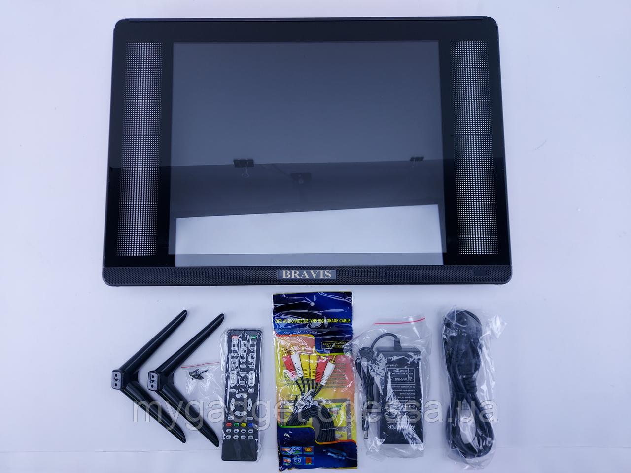"""Фирменный Телевизор Bravis 15"""" HD-Ready/DVB-T2/USB"""