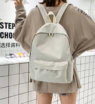 Стильний класичний тканинний рюкзак, фото 3