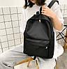 Стильний класичний тканинний рюкзак, фото 2
