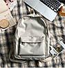 Стильний класичний тканинний рюкзак, фото 4
