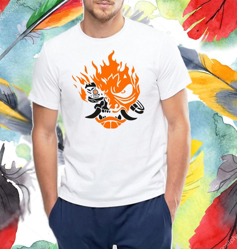 "Футболка с принтом ""Лого Cyberpunk 2077"" Push IT"