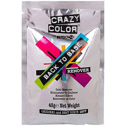 Crazy Color. Back To Base Remover. Змивка, повернення до базового блонду, 45 гр.