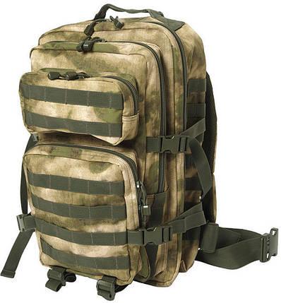 Штурмовой рюкзак 36л система Molle MilTec Assault камуфляж A-TACS FG 14002259, фото 2