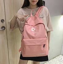 Женский тканевый рюкзак Ромашка, фото 3