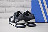 Мужские демисезонные кроссовки натуральный замш и нубук в стиле Adidas ZX 750, фото 2