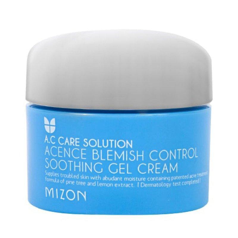Увлажняющий крем-гель для проблемной кожи лица Mizon Acence Blemish Control Soothing Gel Cream 50 мл