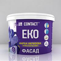 Акриловая краска фасадная Днепр Контакт 1.2 кг