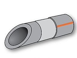 Труба Полипропиленовая Композит Алюминий 32х5,4 PN 20 Koer