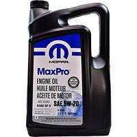 Оригинальное моторное масло MOPAR MaxPro SAE 5W-20 Engine Oil, 5L. API SN ILSAC GF-5 Chrysler MS-6395