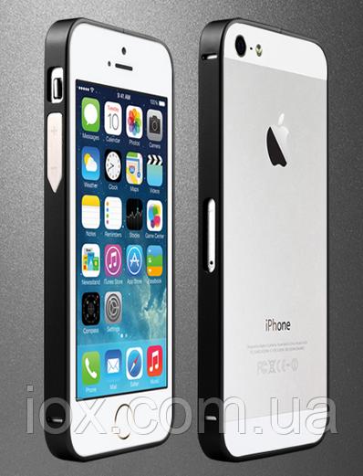 Черный бампер iPhone 5 5S из металла