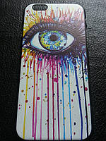 Пластиковый чехол с глазом для iphone 6