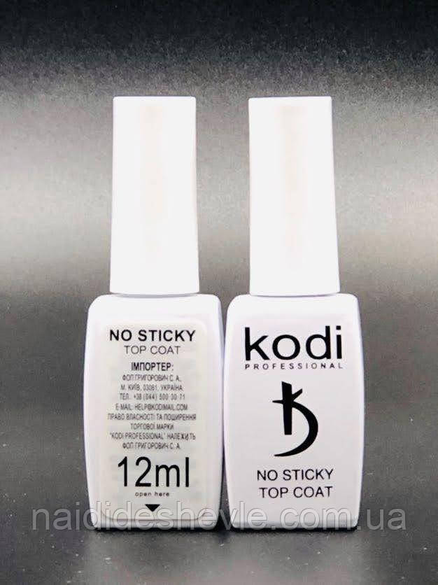 Kodi Professional No Sticki Top Coat, 12 мл.