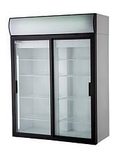 Холодильный шкаф Polair DM114Sd-S дверь-купе, объём 1400 л.