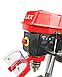 Сверлильный станок LEX LXDP16 МОЩНОСТЬ 1600 W металлические шкивы в подарок тиски и набор сверл, фото 4