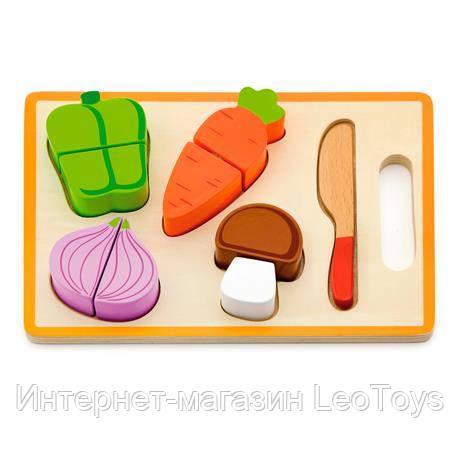 Игрушечные продукты Viga Toys Деревянные овощи (50979)