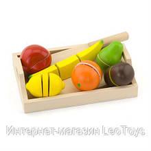 Игрушечные продукты Viga Toys Нарезанные фрукты из дерева (58806)