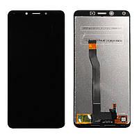 Дисплей для Xiaomi RedMi 6   RedMi 6a с сенсорным стеклом (Черный) Оригинал Китай