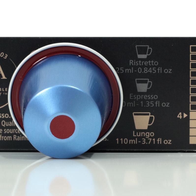 Кофе в капсулах Nespresso Vivalto Lungo Decaffeinato, без кофеин 4 (без тубуса 10 шт.), Швейцария
