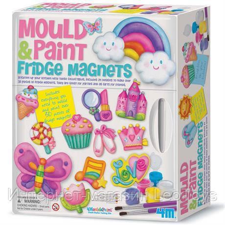 Набор для творчества 4M Магниты на холодильник из гипса (00-03536)