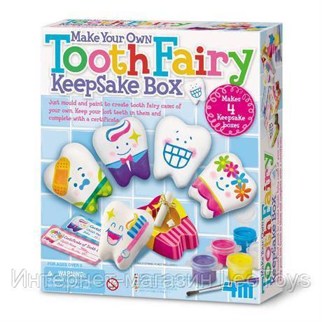 Набір для творчості 4M Скринька зубної феї (00-04564)