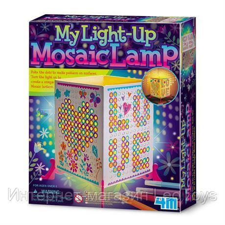 Набор для творчества 4M Лампа-мозаика (00-04618)