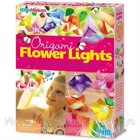 Набір для творчості 4M Гірлянда з орігамі Квіти (00-04725)
