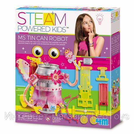 Науковий набір 4M Робот-модниця (00-04906)