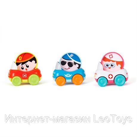 Транспорт Hola Toys Набір машинок, 3 шт. (3129B)