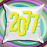 """Атласна подушка з принтом """"Cyberpunk (2077)"""" Push IT"""