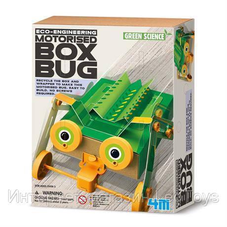 Научный набор 4M Жук из коробок (00-03388)