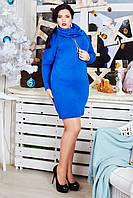 Оригинальное платье-туника с карманами