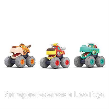 Набор игрушечных машинок Hola Toys Монстр-траки (A3151)