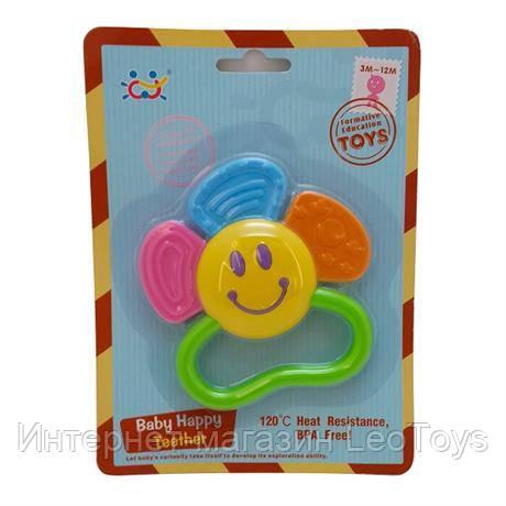 """Прорізувач для зубів Huile Toys """"Квіточка"""" (919-3)"""