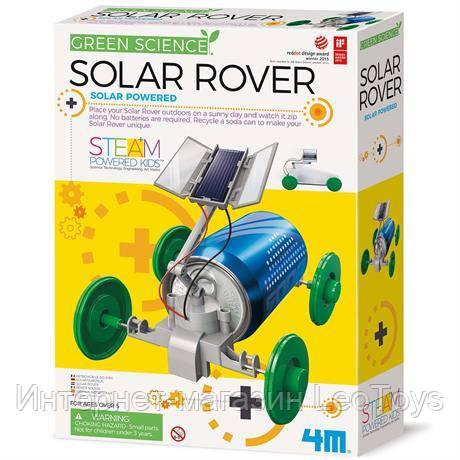 Науковий набір 4M Машина на сонячній батареї (00-03286)
