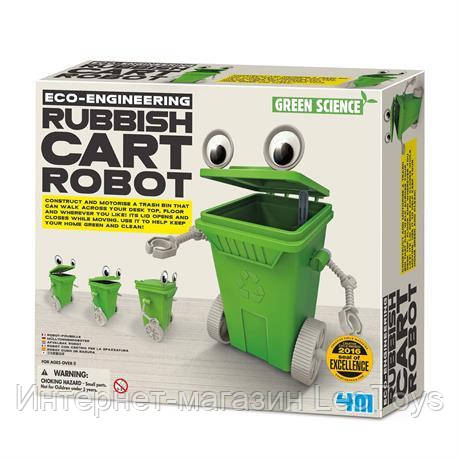 Научный набор 4M Робот-мусорный бак (00-03371)
