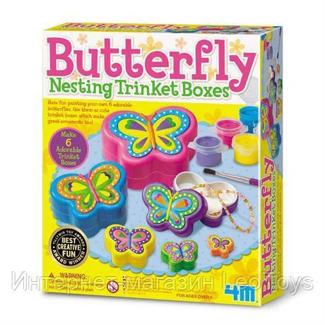 Набір для творчості 4M Скриньки-метелики (00-04664)