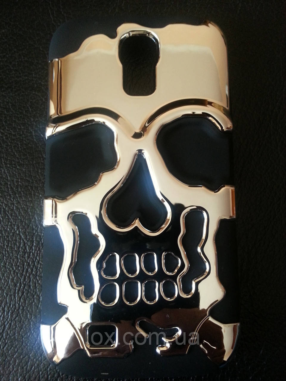 "Срібний Чохол ""Череп"" для Samsung Galaxy S4(I-9500)"