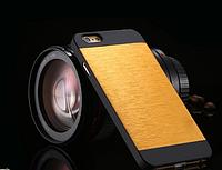 Золотой чехол Motomo на Iphone 6