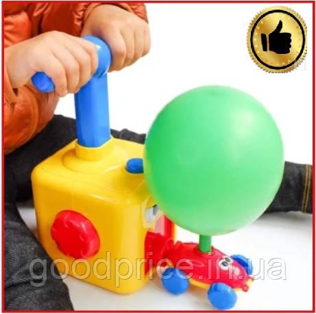 Игрушка аэромобиль Balloon car, машинка с надувным воздушным шариком