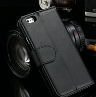 Кожаный чехол-книжка для Iphone 6+