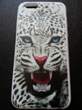 Тонкий силиконовый чехол c леопардом для Iphone 6