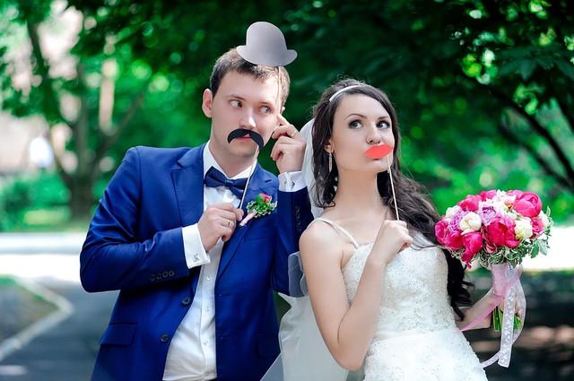 свадебная фотобутафория средний комплект