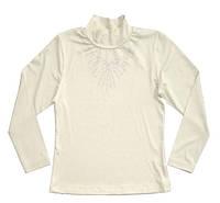 """Водолазка-блуза для девочки """"Ожерелье"""""""